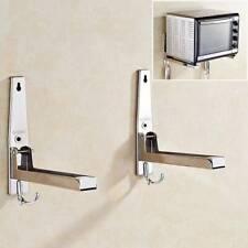 Household Wall Mounted Oven Stand Rack Holder Rack Organizer Storage Hooks LI