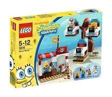 SPONGE BOB - Glove World Lego Set #3816 ~ New in Factory Sealed Box ~ 4- Figures