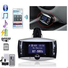1.5''LCD Kit de reproductor de MP3 para auto Bluetooth transmisor FM modulador USB SD MMC Control remoto