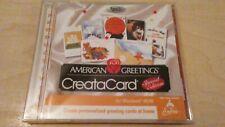 American Greetings CreataCard Special Edition PC CD Rom Windows