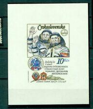 Postfrische Briefmarken aus Tschechien & der Tschechoslowakei mit Raumfahrts-Motiv