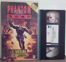 VHS FILM Ita Animazione PHANTOM 2040 Il Fantasma Che Cammina ex nolo no dvd(VH38
