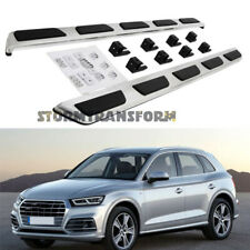 US Stock Side Step for AUDI Q5 2018-2021 Running Board Nerf Bar Durable Steel