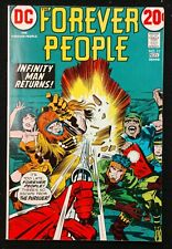 FOREVER PEOPLE #11 VF 1972 DEVILANCE THE PURSUER+INFINITY MAN DARKSEID MORE