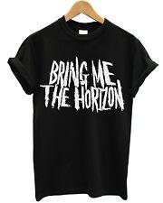 T-SHIRT BRING ME THE HORIZON - maglietta 100% cotone NERO - Metal
