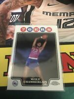 Topps Chrome Wilt Chamberlain 76ers Lakers Base Card HOF