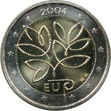 Pièces euro de la Finlande pour 2 euro année 2004