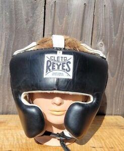 CLETO REYES PROFESSIONAL Cheek Headgear BLACK sz Medium