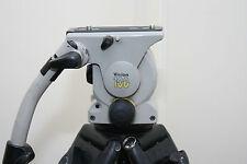 Vinten Vision 100 Fluid Head with  Vinten two stage Carbon Fiber Legs tripod