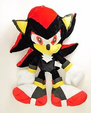 "Sonic the Hedgehog Adventures SHADOW Plush Stuffed Doll Black - Floppy 27"" TALL"