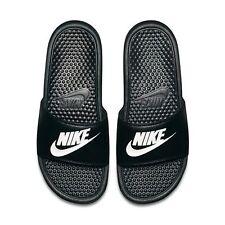 3d62c638d Nike Benassi JDI Men s Slide Black White 343880-090 Free Shipping Sandals