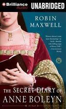 The Secret Diary of Anne Boleyn by Robin Maxwell (2012, CD, Unabridged)
