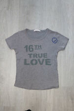 T-shirt gris (Taille 10 ans)