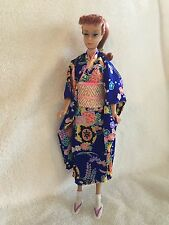 Authentic TAKARA Kimono for Barbie with Obi, Tabi and Geta's (Shoes) 1980's
