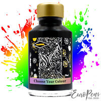 """Diamine Glass Bottled Shimmer """"Glitter"""" Ink 50ml For Fountain Pens - 40 Colours!"""