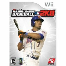 Major League Baseball 2K8 For Wii Game Only 1E