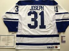 Maple Leafs Curtis Joseph Signed Jersey - NWT CCM XL made in Canada - JSA - COA