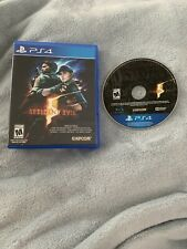 Playstation 4 PS4 Game Resident Evil 5 Case And Game