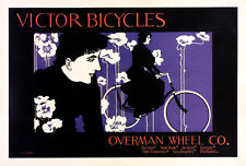 Victor Bicycles Original Vintage Poster - Cycling - Maitres de L'Affiche #152