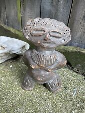 More details for pre columbian ancient pottery female fertility figure sculpture venezuelan art