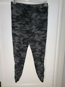 Sundry black camo legging Sweatpants 3 L.   A835