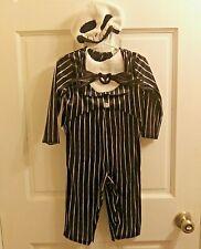 Disney Nightmare Before Christmas Jack Skellington Halloween Costume 12-18 Month