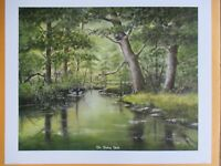 "Fred Thrasher ""The Fishing Hole"" 2009, Limited Edition Print, Landscape"