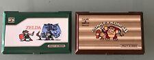 Nintendo Game & Watch Zelda - Donkey Kong 2 - defecto
