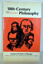 1966 Book 18th Century Philosophy History Diderot Russeau Voltaire Beck