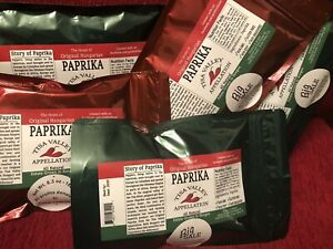 Original Hungarian Paprika - 6.3 oz - 30% SALE - Estate Grown in Tisza Valley