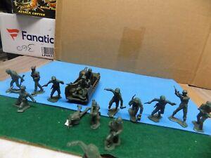 Marx WWII Iwo Jima Battleground figures
