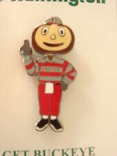 Ohio State Buckeyes Brutus Lapel Pin, Bobblehead , NIP, year?