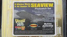 Paragrafix Photoetch Set For The 8 Window Seaview Submarine # Pgx 160 F/S
