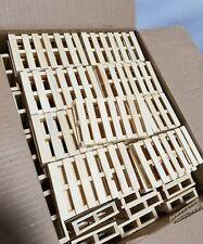 """Box of 500 RBR 5""""×3"""" Mini Pallets, SKBAWA-000"""