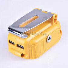 USB Charging Converter For Dewalt DCB091 Li-ion Battery 12V DC DE Output