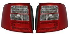 FEUX ARRIERES LED ROUGE ROUGE CRISTAL AUDI A6 AVANT C5 1998-2005 3.0 4.2 RS6
