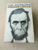 Carl Sandburg's Abraham Lincoln 1960 Vintage Paperback Set of Books