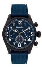 Gigandet Interceptor Herrenuhr Chronograph Datum Edelstahl Blau/Schwarz G4-008