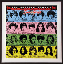 THE ROLLING STONES SOME GIRLS VINTAGE 1978 PROMO POSTER