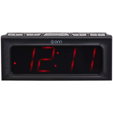 Digital Dual Alarm Clock Radio  With Built-in Speaker ONA15AV101