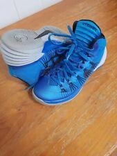 NIKE HYPERDUNK 2013 Mens Basketball Shoes 599537-401 Blue Gray UK Size 8 / US 9