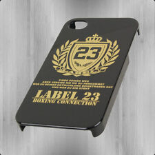 Label 23 Logo iPhone 4 Schmartphone Handy Hülle schwarz Cover Hartcover