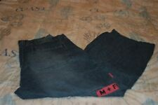 Mens Marithe Francois Girbaud Cargo Shuttle Tape Distressed Jeans Size 40X30