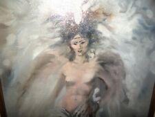 Robin John ANDERSON, (B. 1951);    Original Oil Painting, Nude