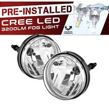 !Built-In LED! 2007-2013 GMC Sierra 1500 2500HD 3500HD Fog Lights Factory Style
