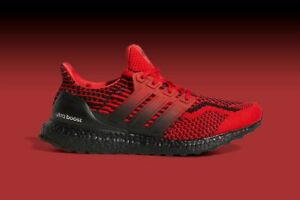 adidas UltraBoost 5.0 DNA Shoes Scarlet Red Core Black H01014 Men's NEW