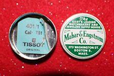 781, 401/1, New Old Stock (Nos) Vintage Tissot 781 Stem, Qty One (1),