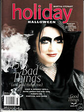 Martha Stewart Holiday Halloween Special Issue 150 Bad / Good Things (2007)