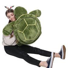 MorisMos Giant Big Plush Eyes Sea Turtle Stuffed Animal Plush Tortoise Toys for