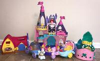 Little People Disney Princess Palace Castle Carriage Ariel Belle Cinderella